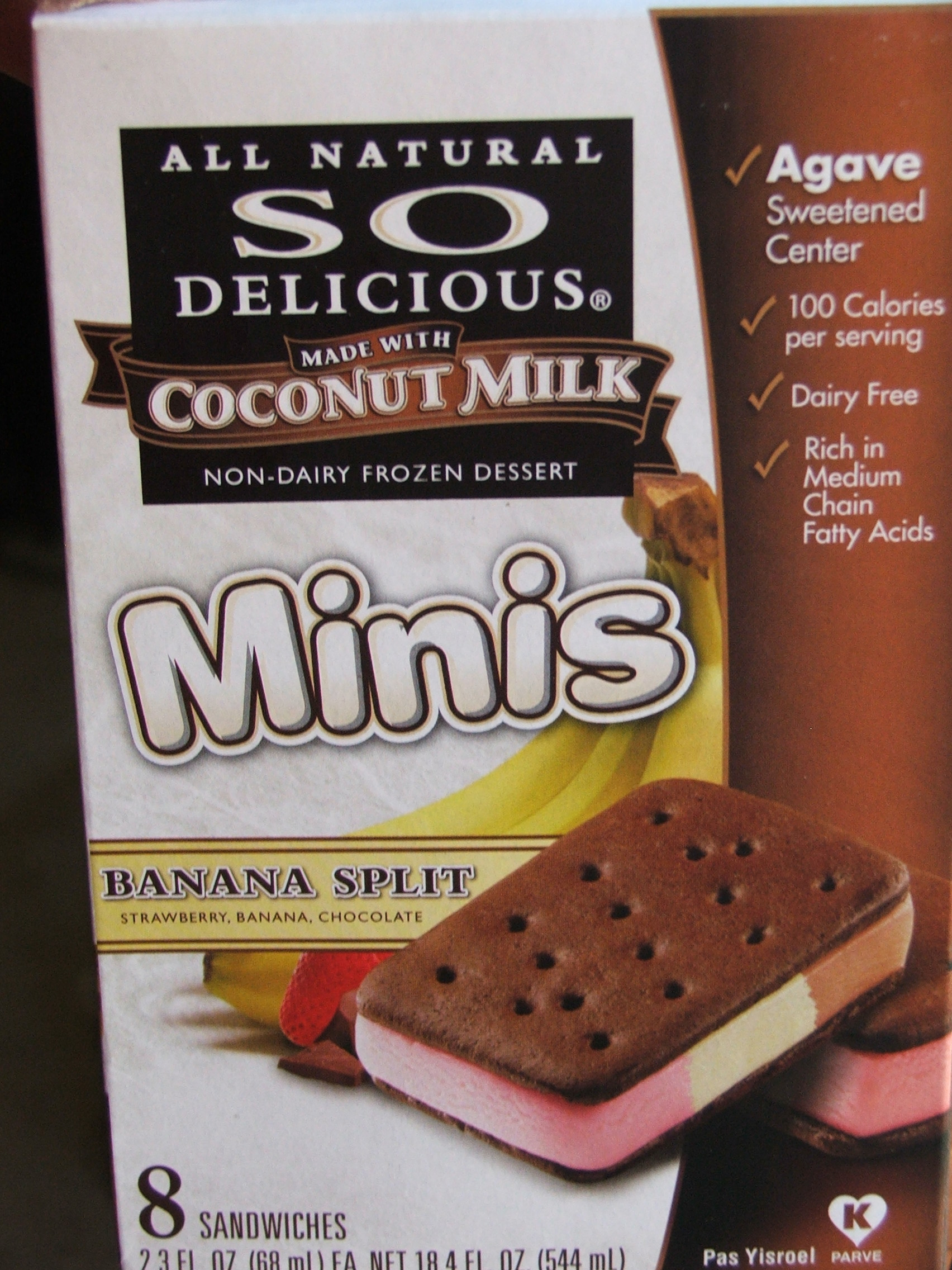 So delicious ice cream sandwiches dairy free living for How to make delicious ice cream at home